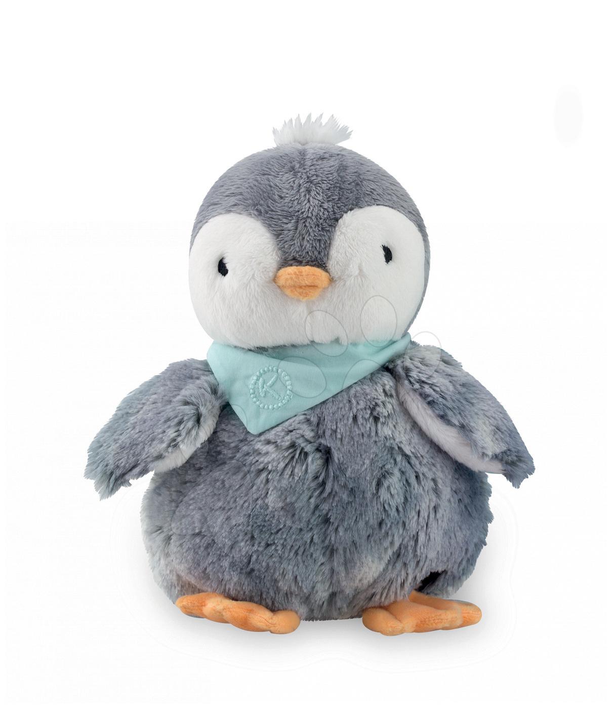 Plyšový tučňák Les Amis- Pingouin Kaloo 25 cm v dárkovém balení pro nejmenší