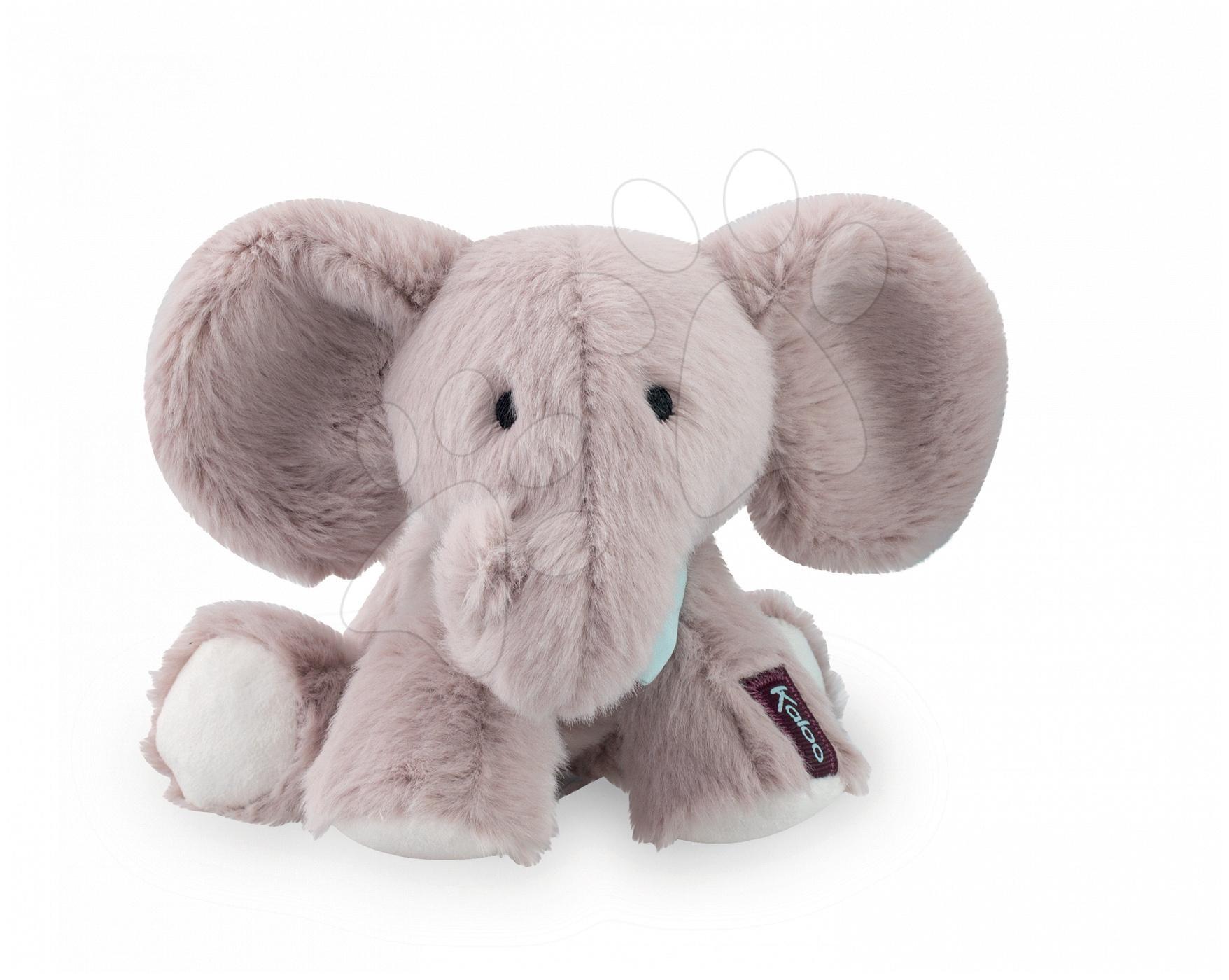 a05cc9758fea Plyšový sloník Kaloo Peanut sivý