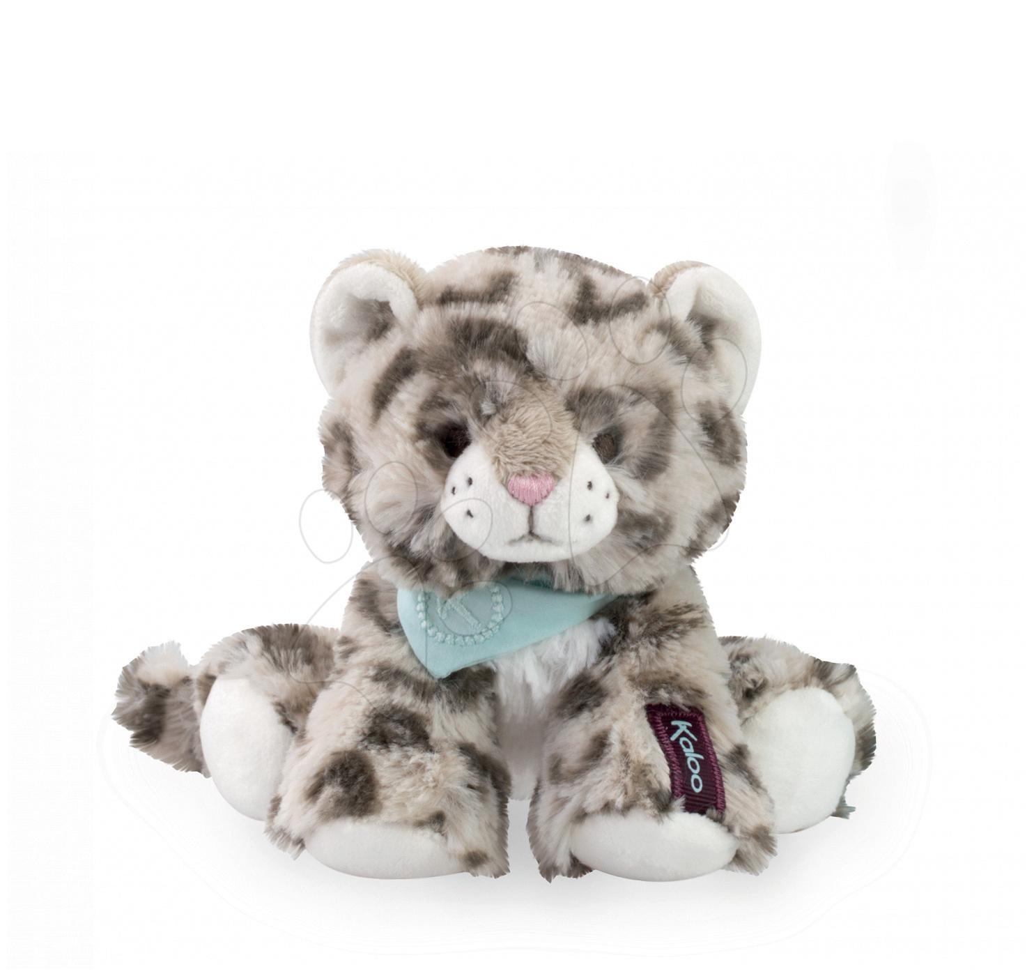 Plyšový leopard Cookie Les Amis-Leopard Kaloo 19 cm v dárkovém balení pro nejmenší