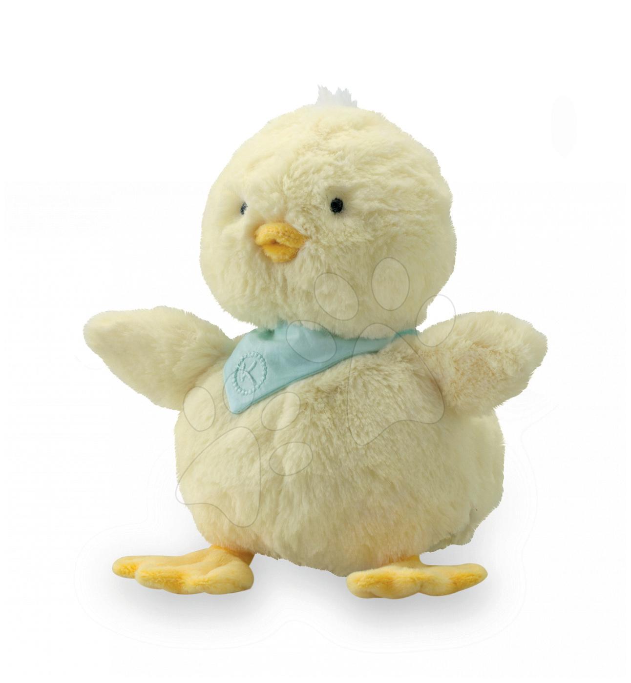 Plyšové zvieratká - Plyšové kuriatko Lemon Les Amis-Poussin Kaloo 12 cm v darčekovom balení pre najmenších