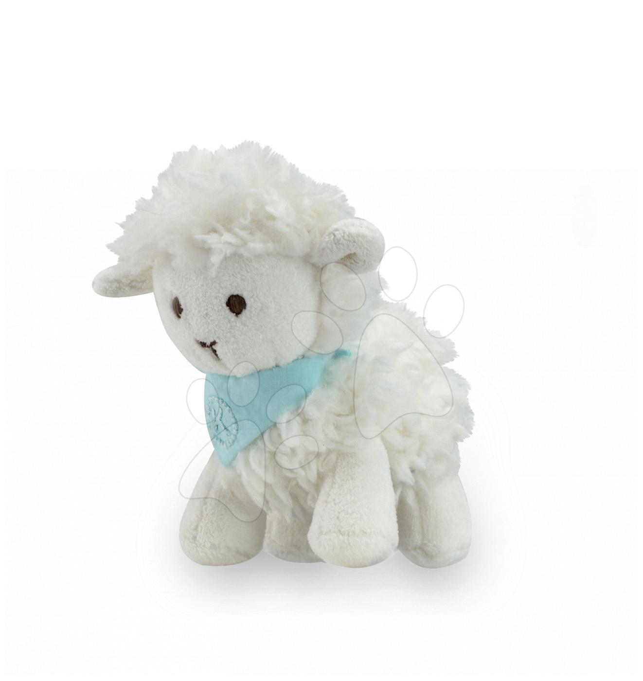 Plyšové zvieratká - Plyšová ovečka Vanille Les Amis-Agneau Kaloo 12 cm v darčekovom balení pre najmenších