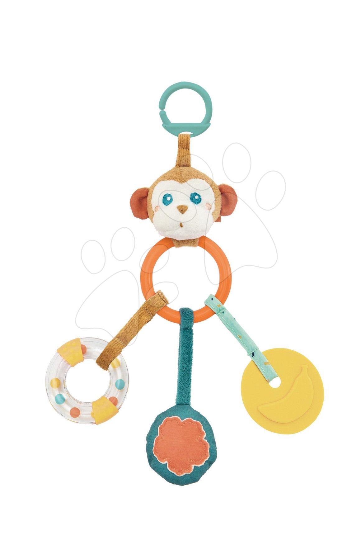 Hrkálka multifunkčná Opica Sam Kaloo pre najmenších od 0 mes