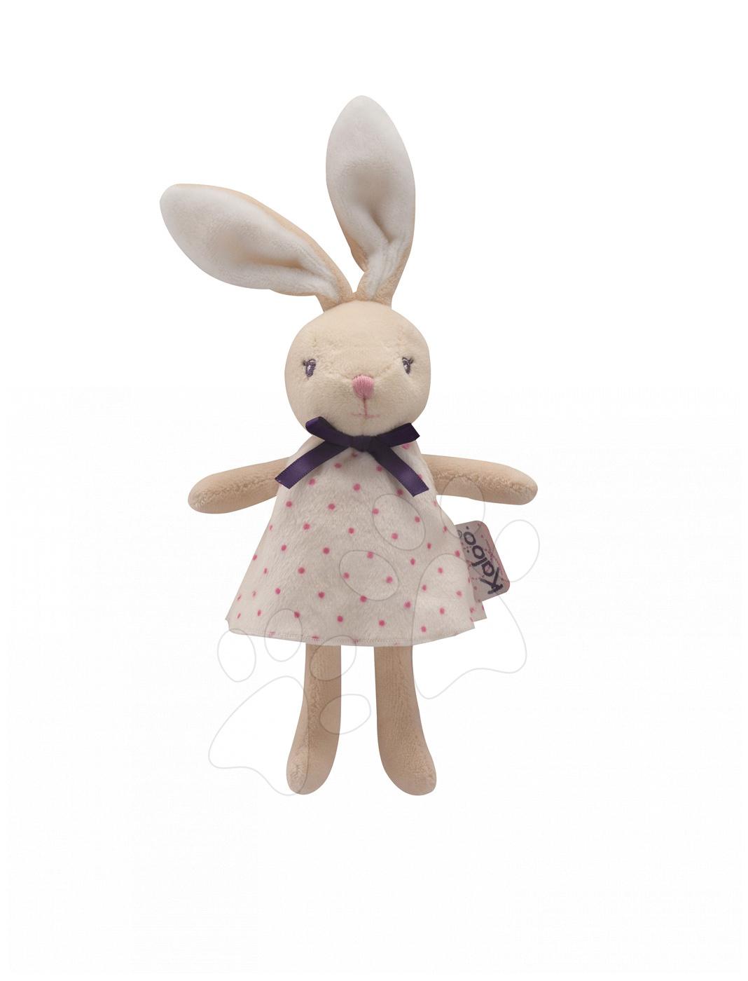Plyšový králíček panenka Petite Rose-Mini Dolls Kaloo 12 cm pro nejmenší