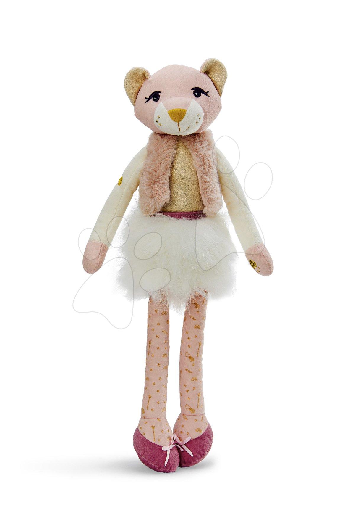 Plyšová bábika levica Leana Lioness Les Kalines Kaloo 46 cm v darčekovej krabici