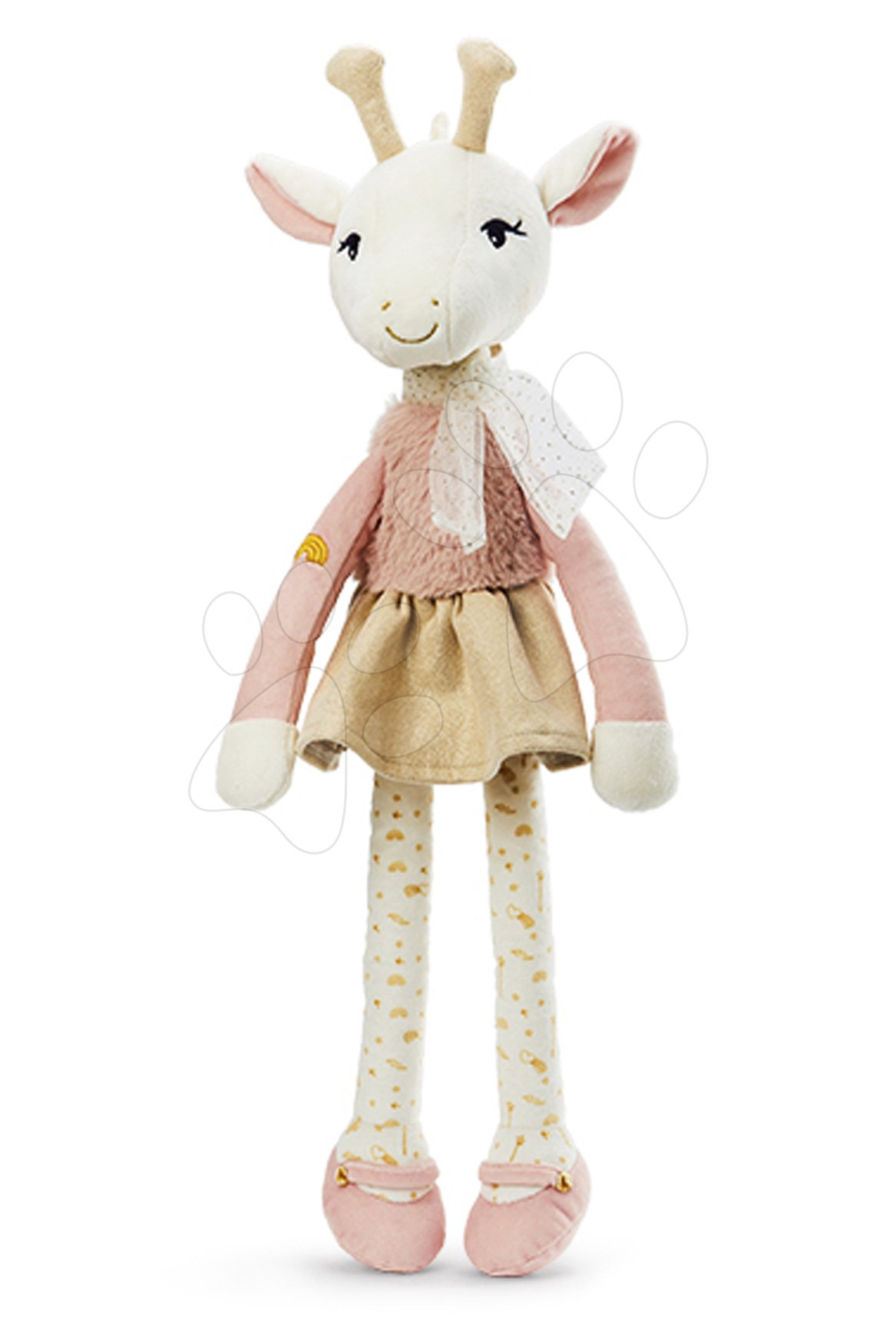 Plyšová bábika žirafa Zarafa Giraffe Les Kalines Kaloo 46 cm v darčekovej krabici od 0 mes