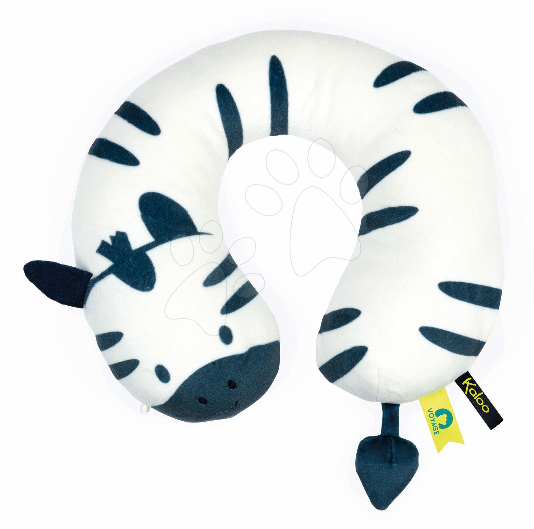 Cestovní polštář Zebra My Head Support Cushion Home Kaloo pro děti od 6 měsíců