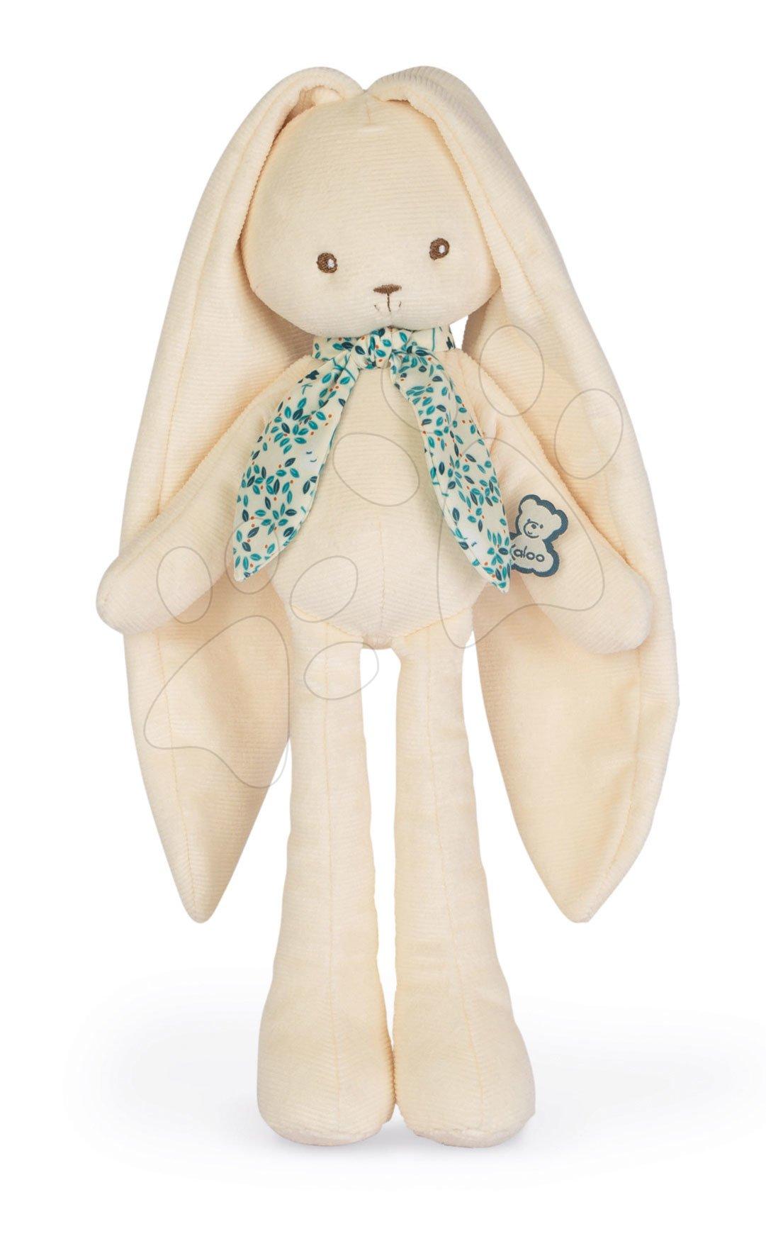 Hračky pro miminka - Panenka zajíček s dlouhými oušky Doll Rabbit Cream Lapinoo Kaloo krémový 35 cm z jemného materiálu v dárkové krabičce od 0 měsíců