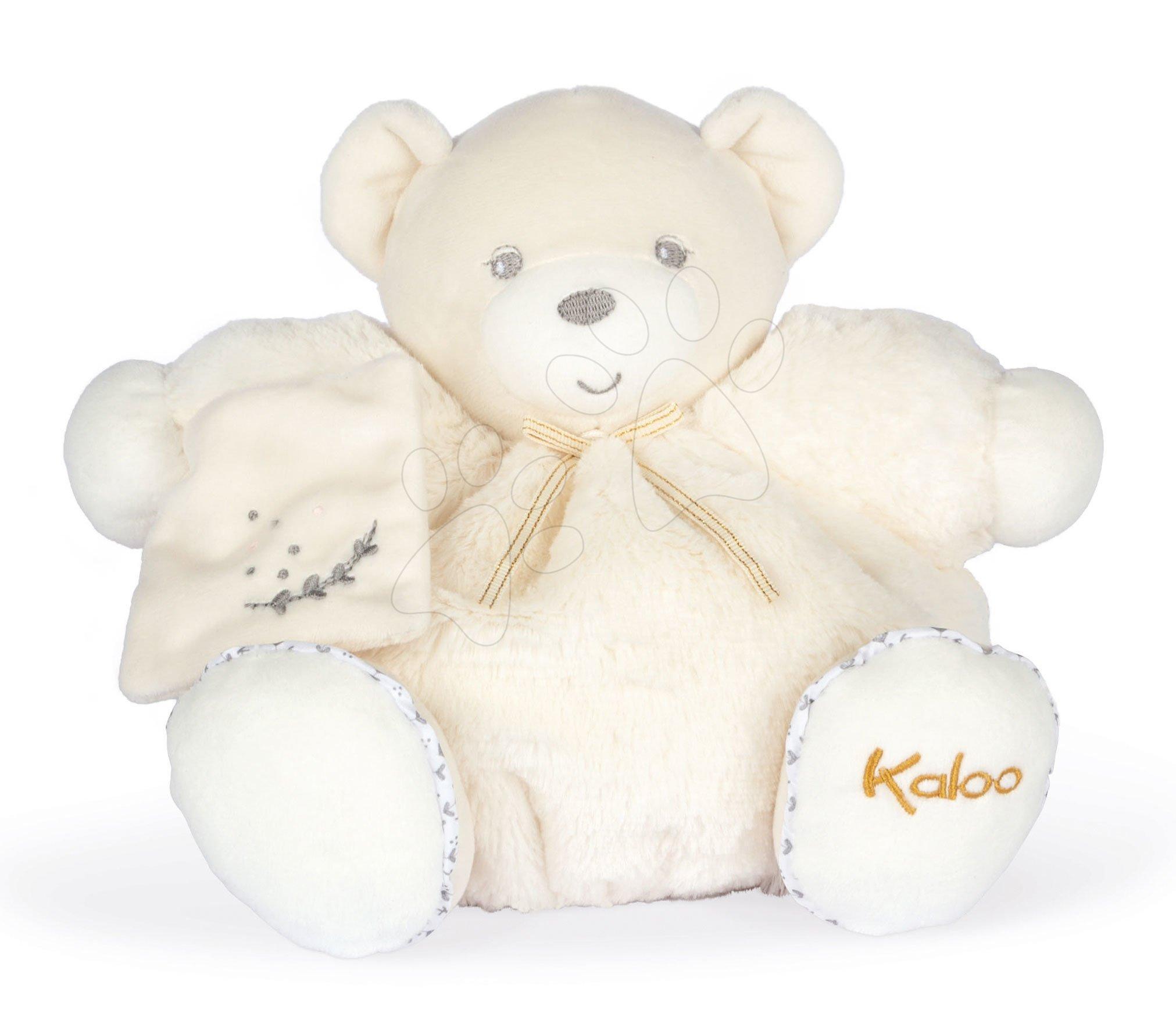 Plyšový medvěd Chubby Bear Cream Perle Kaloo krémový 25 cm z jemného měkkého materiálu od 0 měsíců