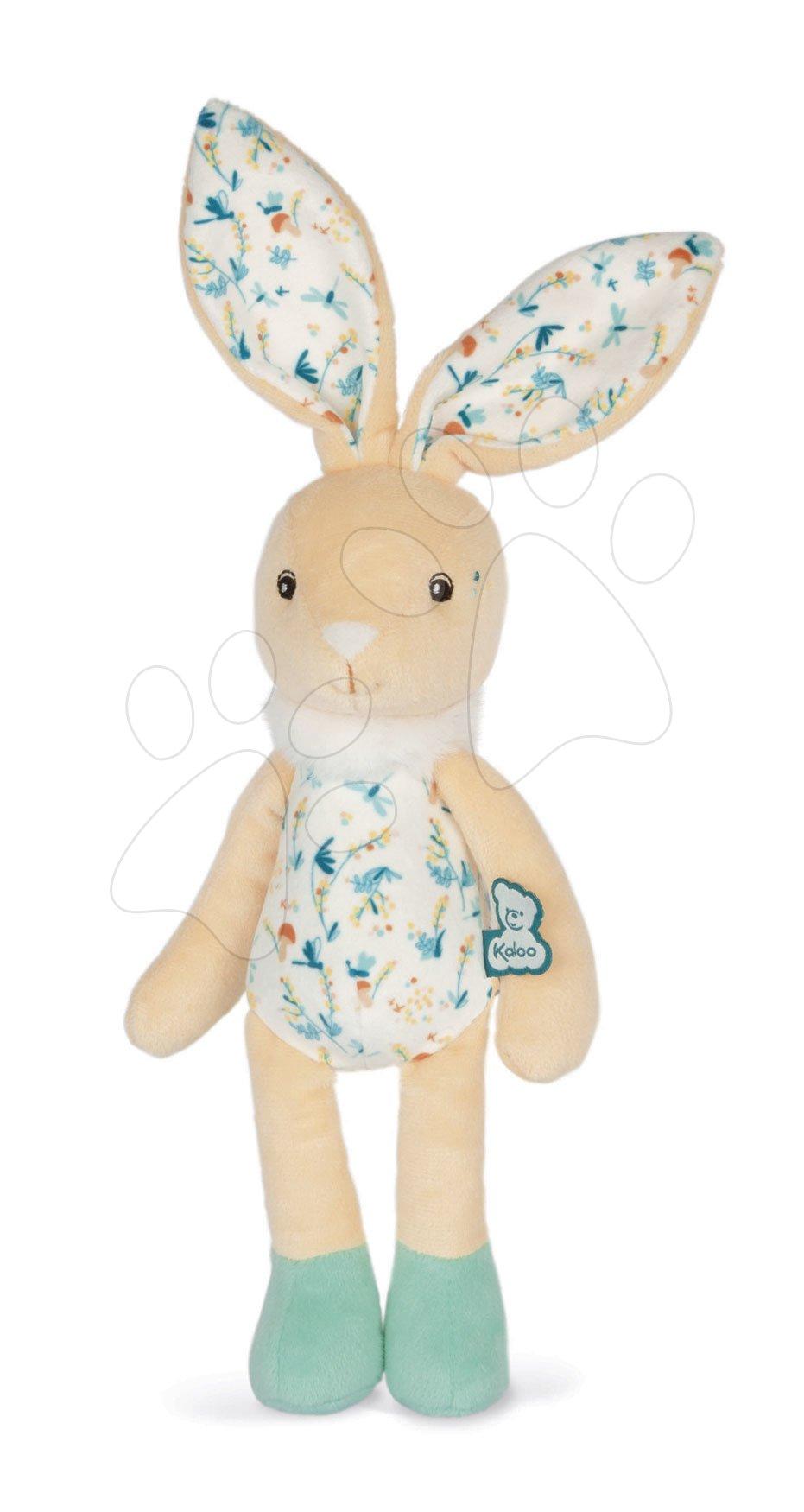 Hračky pro miminka - Bábika plyšový zajac Justin Rabbit Doll Fripons Kaloo z jemného materiálu 25 cm v darčekovom balení od 0 mes K969997
