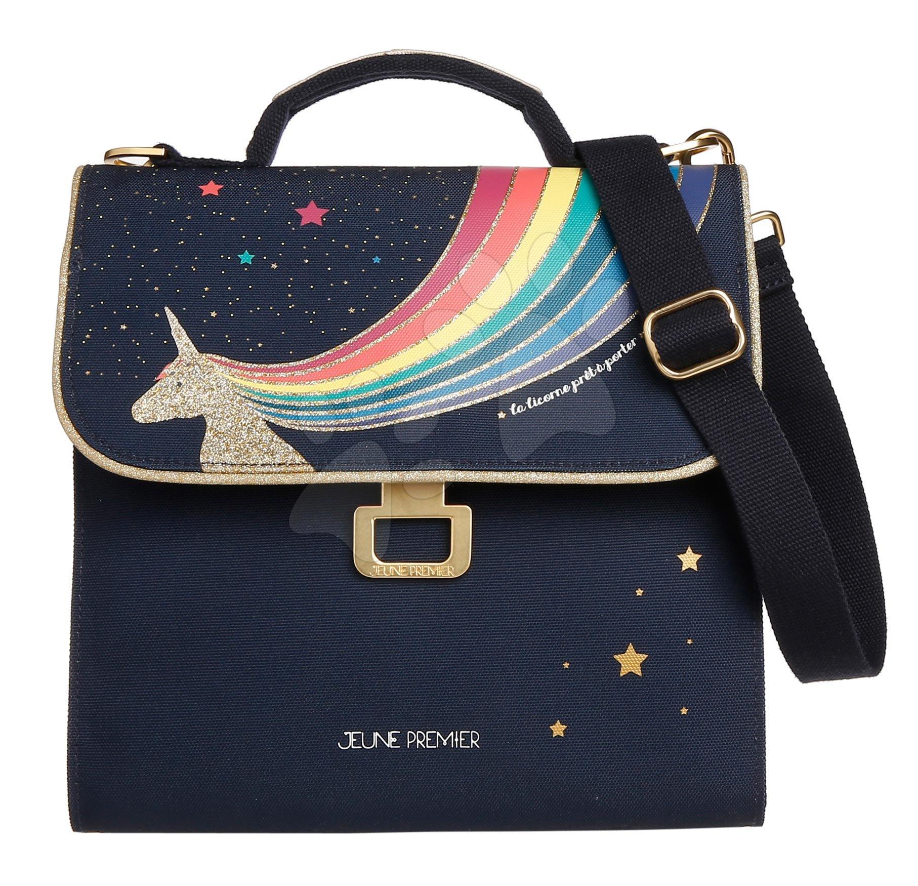 Box na svačinu Lunch Bag Unicorn Gold Jeune Premier ergonomický luxusní provedení