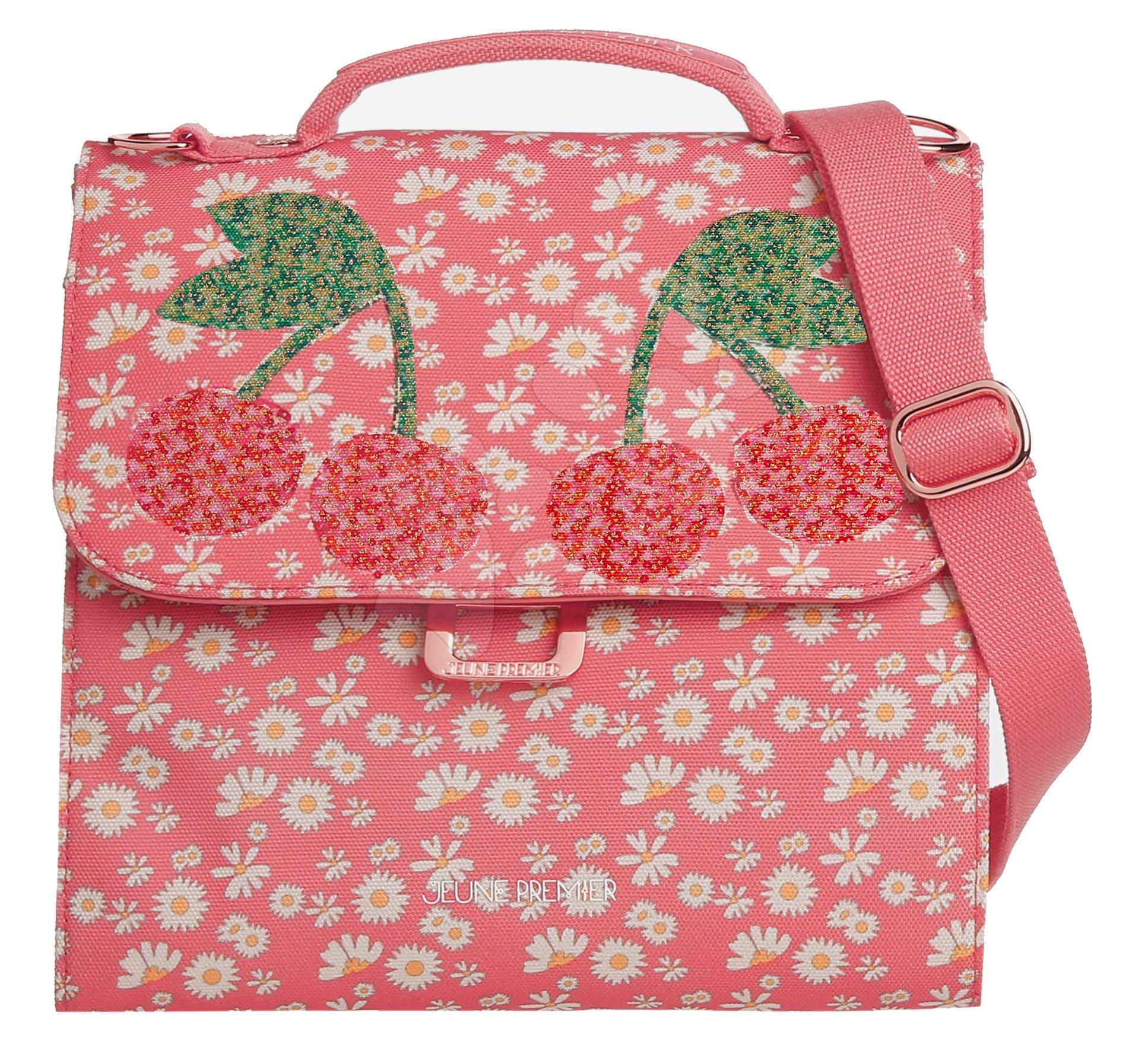 Box na svačinu Lunch Bag Miss Daisy Jeune Premier ergonomický luxusní provedení 22*24 cm