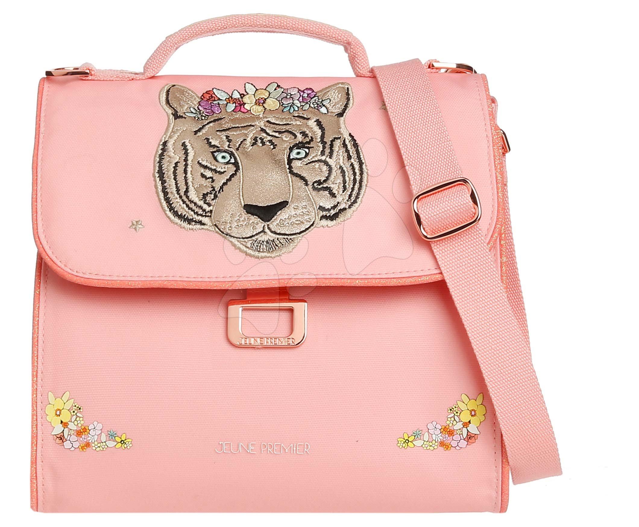 Box na svačinu Lunch Bag Tiara Tiger Jeune Premier ergonomický luxusní provedení 22*24 cm