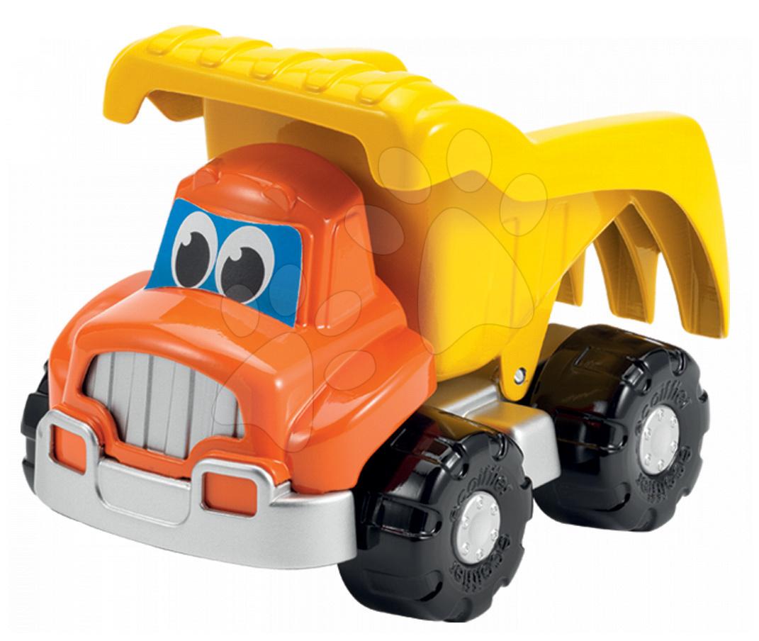 Stavební auto vyklápěčka Bořek stavitel Écoiffier délka 20 cm oranžové od 18 měsíců