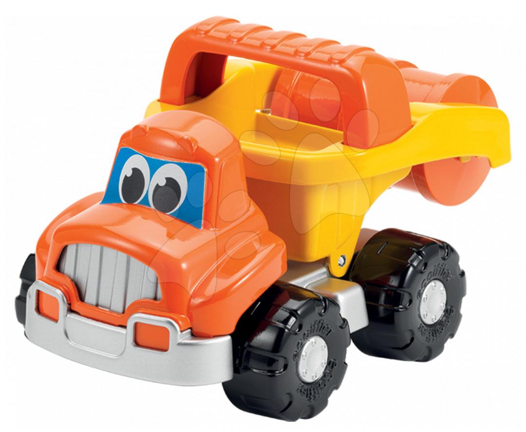 Stavební auto válec Bořek stavitel Écoiffier délka 24 cm oranžové od 18 měsíců