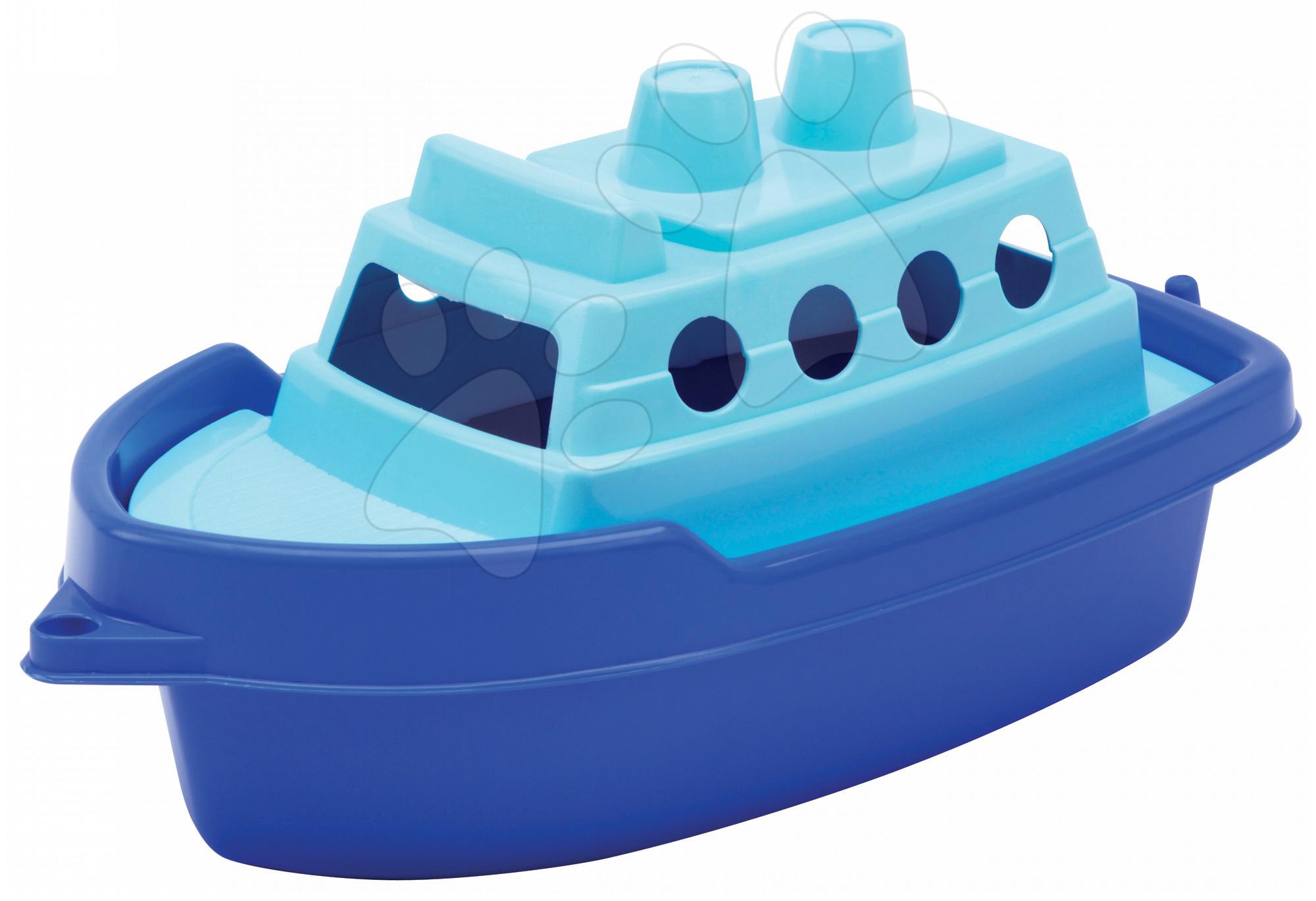 Loďky a člnky k vode - Loďka do vane Écoiffier (dĺžka 33,5 cm) modrá od 18 mes