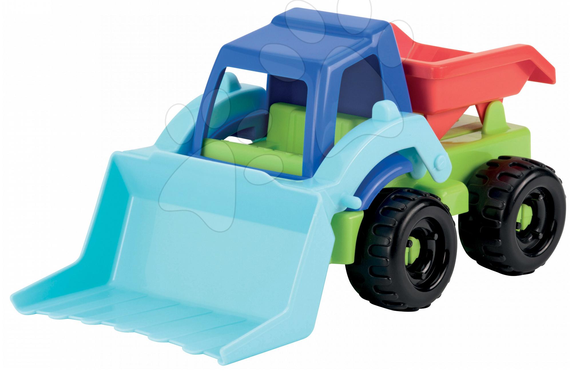 Stavebné stroje - Buldozér Écoiffier pracovné autíčko dĺžka 20 cm od 18 mes