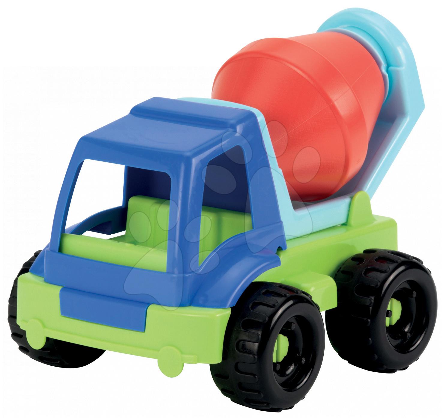 Stavebné stroje - Miešačka Écoiffier pracovné autíčko dĺžka 20 cm od 18 mes