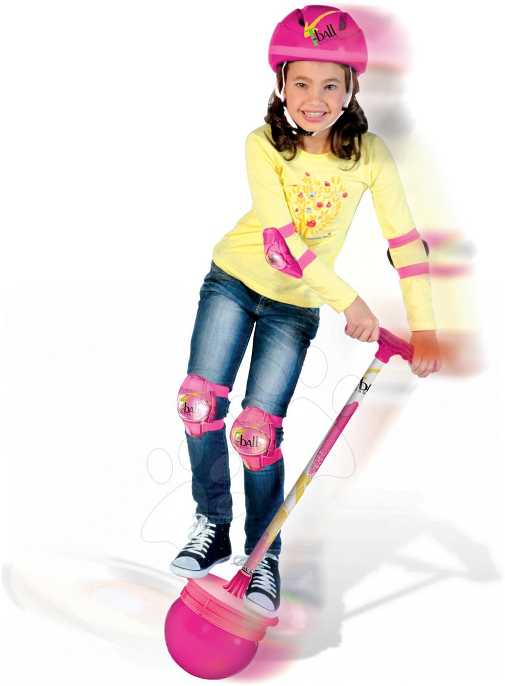 Detské skákadlá a hopsadlá - T-Ball na skákanie Barbie Mondo 92 cm od 4 rokov