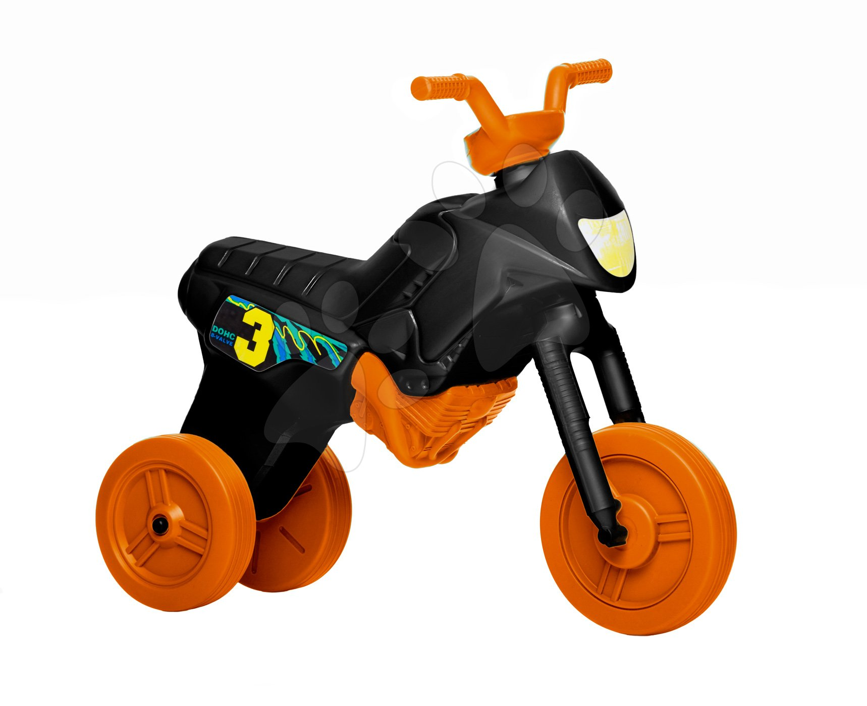 Motorky - Velké odrážedlo Enduro oranžové od 24 měsíců