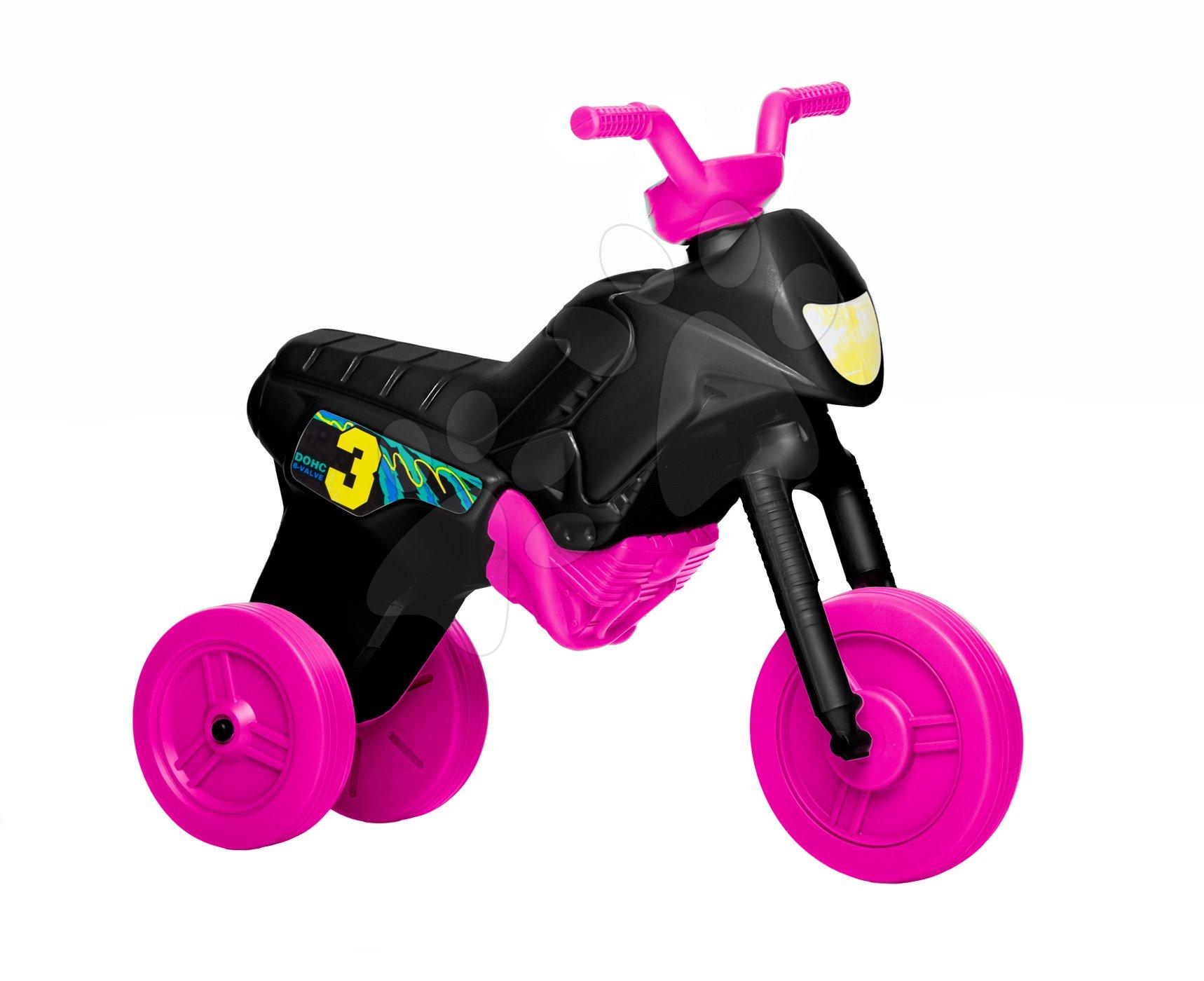 Motorky - Veľké odrážadlo Enduro ružové od 24 mes