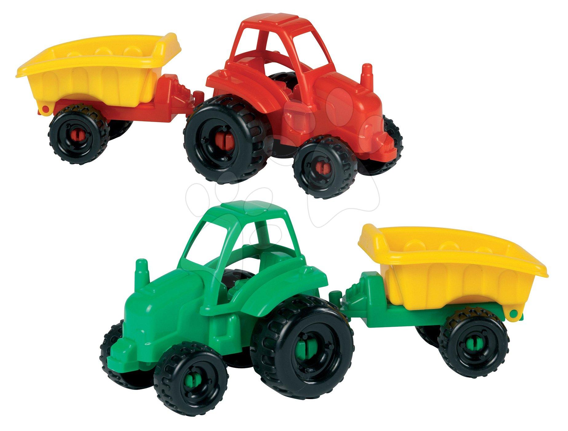 Traktor Picnic Écoiffier s vlečkou dĺžka 25 cm červený / zelený od 18 mes