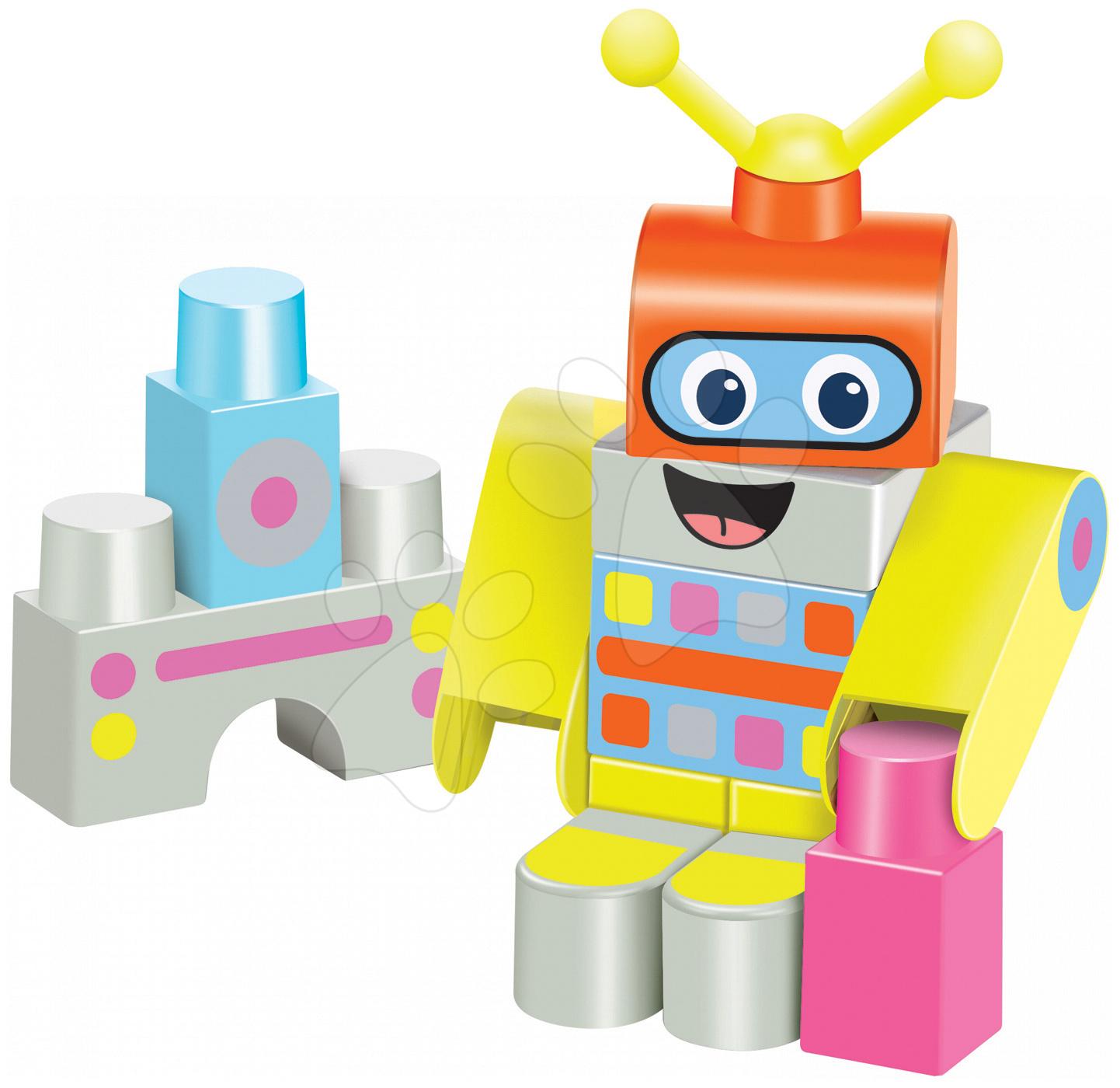 Stavebnice Robot Maxi Abrick Écoiffier s IML potiskem od 12 měsíců