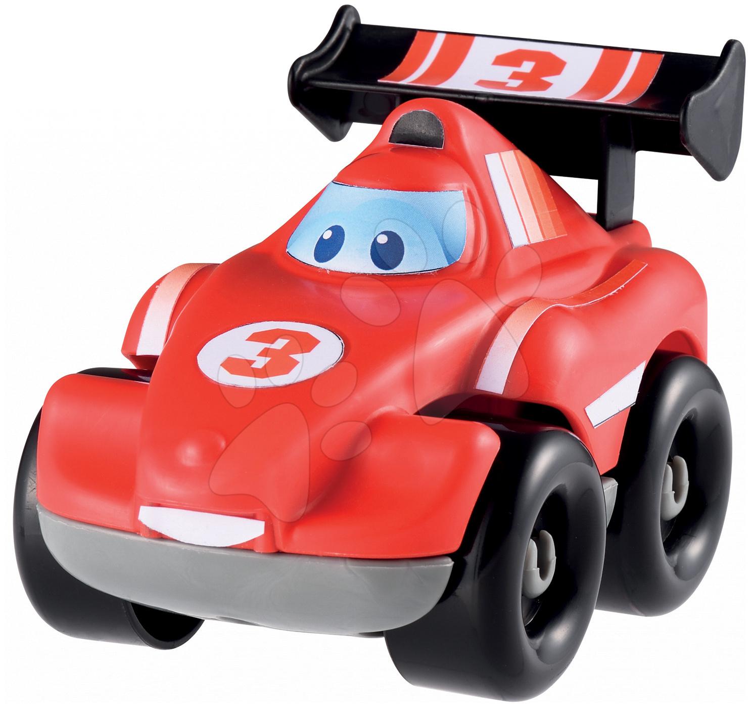 Závodní autíčko Abrick Écoiffier červené od 18 měsíců
