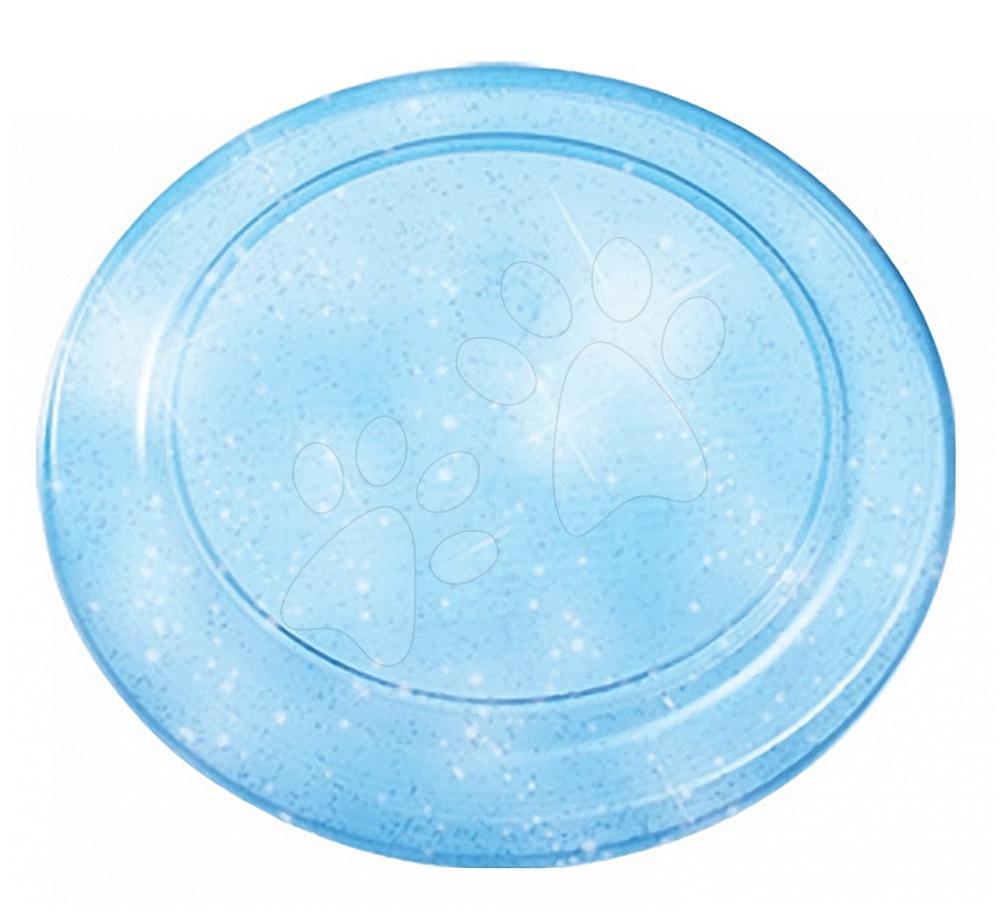 Lietajúci tanier Écoiffier s trblietkami priemer 23 cm modrý od 18 mes