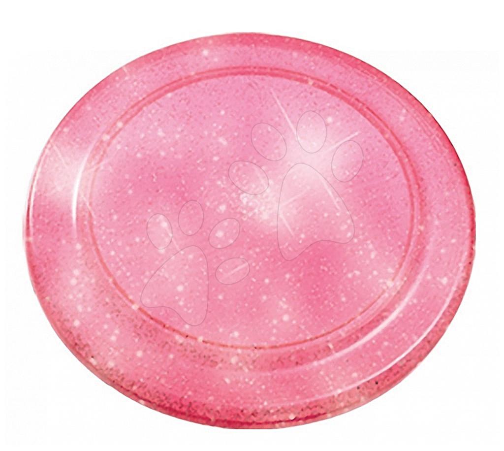 Létající talíře - Létající talíř s třpytkami Écoiffier průměr 23 cm růžový od 18 měsíců