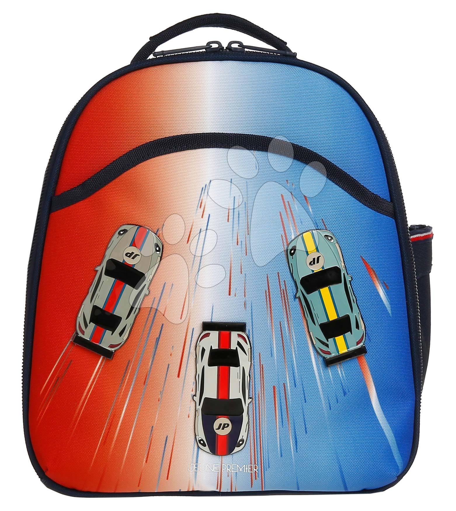 Školská taška batoh Backpack Ralphie Racing Club Jeune Premier ergonomický luxusné prevedenie 31*27 cm
