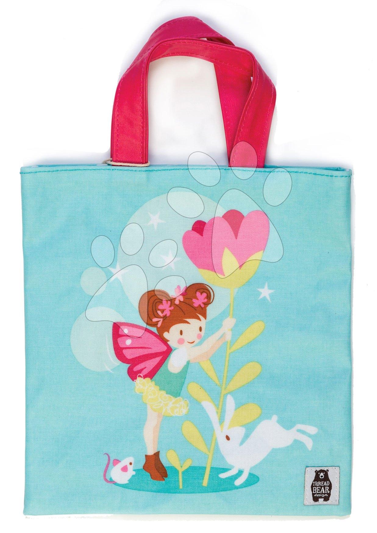 Plátená taška víla so zajačikom Trixie the Pixie Mini Tote Bag ThreadBear od 3-6 rokov