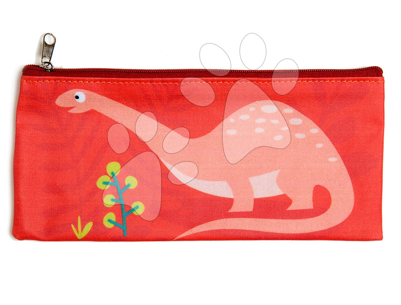 Školske pernice - Pernica od platna Dinosaur Pencil Case ThreadBear sa zaštitnim slojem od 3. godine starosti