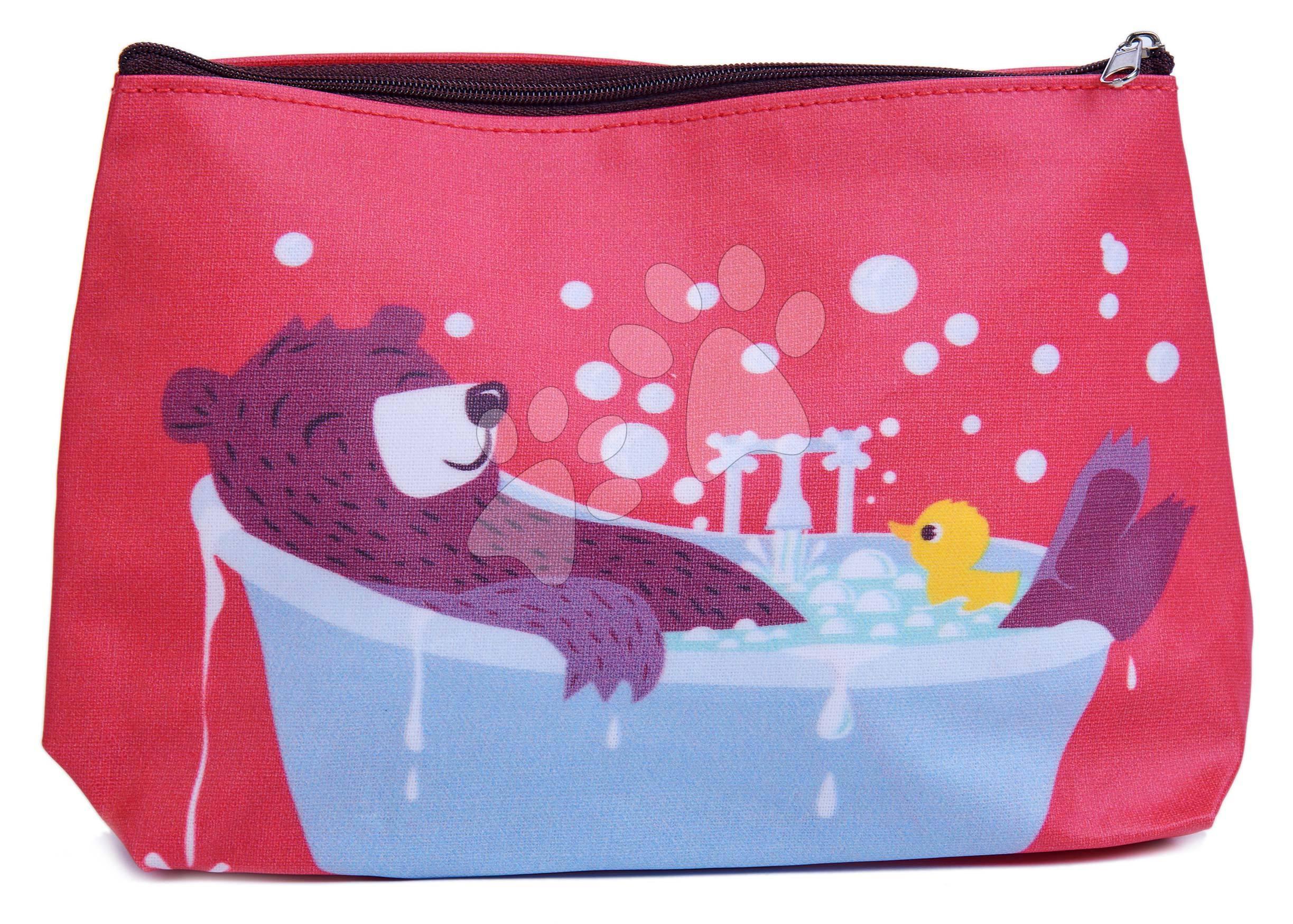 Toaletná taštička medveď Fred's Washbag ThreadBear z bavlny