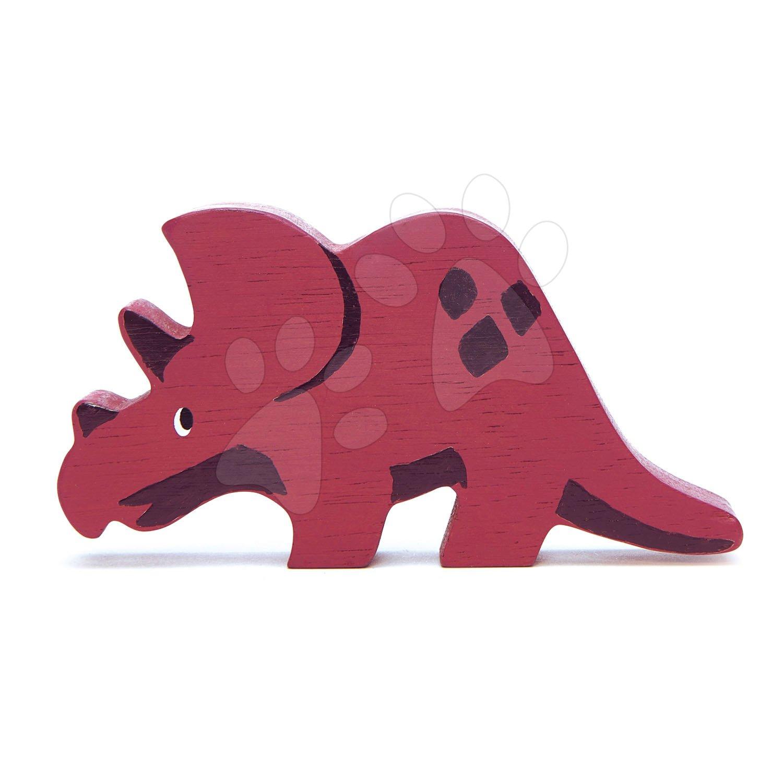 Drevený dinosaurus Triceratops Tender Leaf Toys