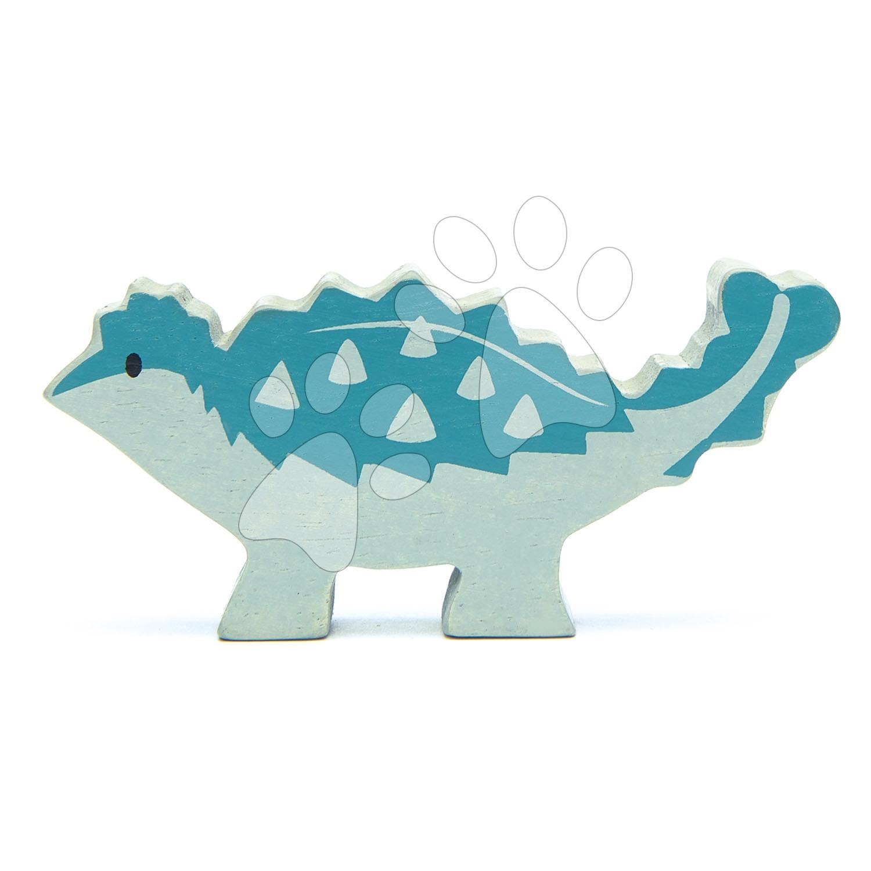 Drevený dinosaurus Ankylosaurus Tender Leaf Toys