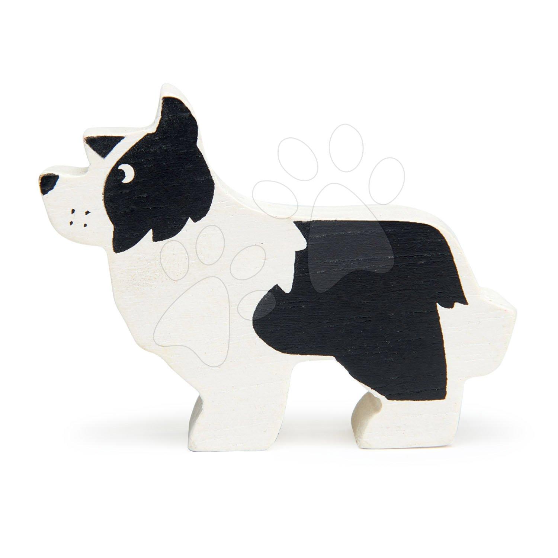 Drevený psík English Shepherd Dog Tender Leaf Toys