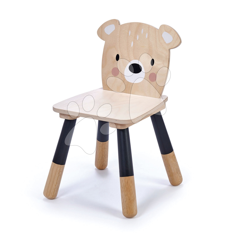 Dřevěná židle medvěd Forest Bear Chair Tender Leaf Toys pro děti od 3 let