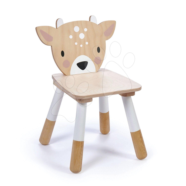 Drevená stolička Srnka Forest Deer Chair Tender Leaf Toys pre deti od 3 rokov