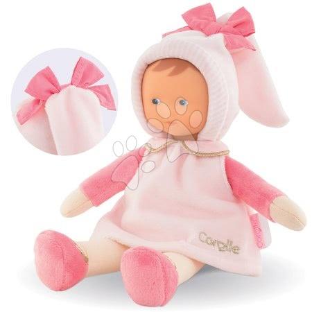 Bábiky od 0 mesiacov - Bábika Miss Sweet Dreams Corolle Mon Doudou bledoružová s modrými očami 25 cm od 0 mes