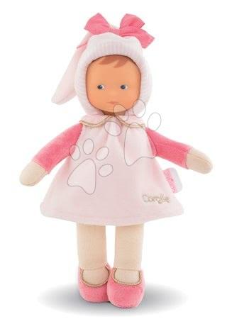 Bábiky od 0 mesiacov - Bábika Miss Sweet Dreams Corolle Mon Doudou bledoružová s modrými očami 25 cm od 0 mes_1