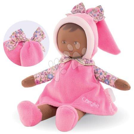 Bábiky od 0 mesiacov - Bábika Miss Floral Sweet Dreams Corolle Mon Doudou kreolka s hnedými očami 25 cm od 0 mes