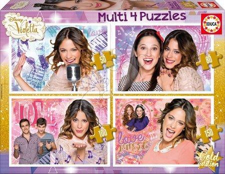 Puzzle Disney Violetta Educa 50-80-100-150 dielov od 5 rokov