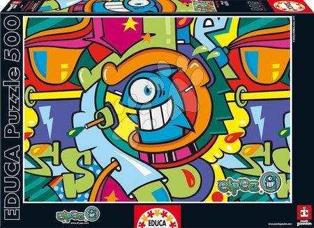 EDUCA 16274 puzzle Genuine The Fish 500 dielikov
