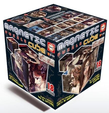 Puzzle Viktoria Frances - magnetická kocka Educa 27 dielov od 9 rokov