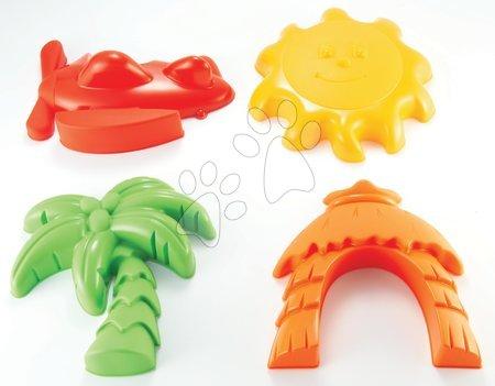 Modelčki za pesek - Modelčki za pesek Maxi Beach Écoiffier 4 deli od 18 mes