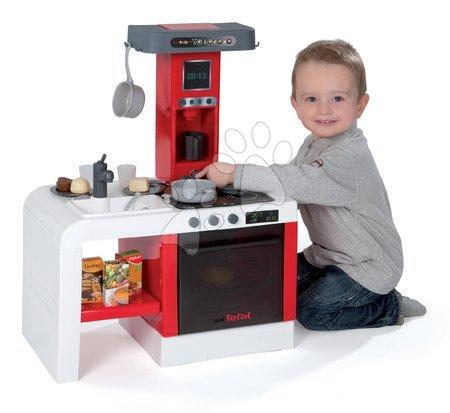Detská kuchynka Cheftronic Tefal Smoby elektronická so zvukmi a 21 doplnkami