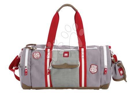 Red Castle - Prebaľovacia cestovná taška ku kočíku Bowling Red castle šedá