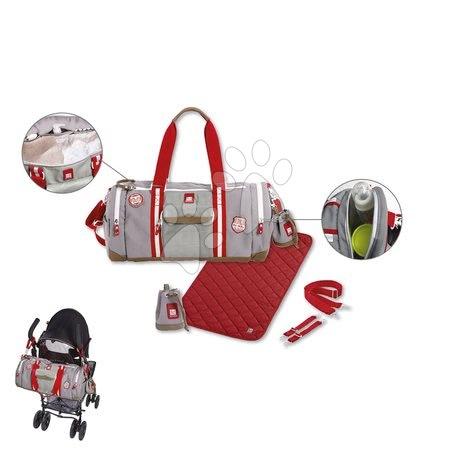Red Castle - Prebaľovacia cestovná taška ku kočíku Bowling Red castle šedá_1