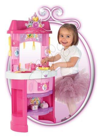 Princese - Set kuhinja Disney Princeze Smoby sa satom i sjedalicom za hranjenje s lutkom_1