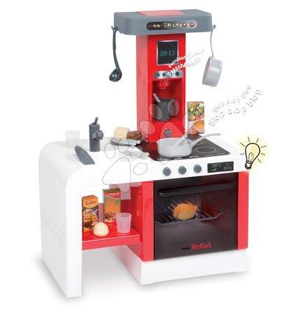 Bucătărie Cheftronic Tefal Smoby cu efecte sonore electrice și cu 21 de accesorii